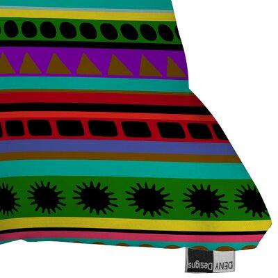 DENY Designs Romi Vega Heavy Pattern Indoor/Outdoor Polyester Throw Pillow
