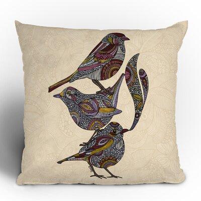 DENY Designs Valentina Ramos 3 Kings Polyester Throw Pillow