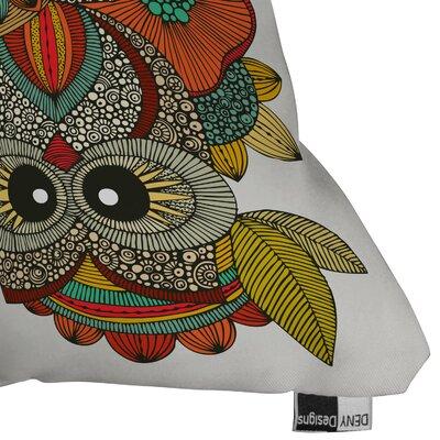 DENY Designs Valentina Ramos 4 Owls Polyester Throw Pillow