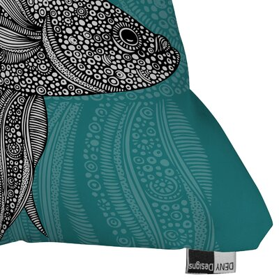 DENY Designs Valentina Ramos Beta Fish Polyester Throw Pillow
