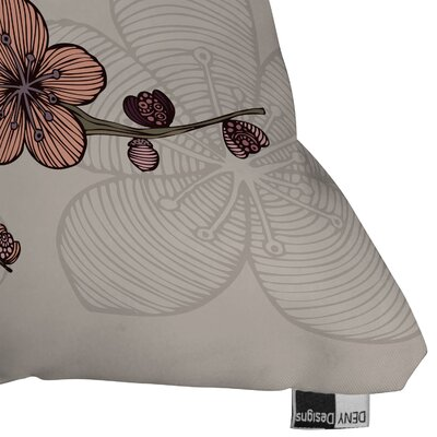 DENY Designs Valentina Ramos Blossom Polyester Throw Pillow