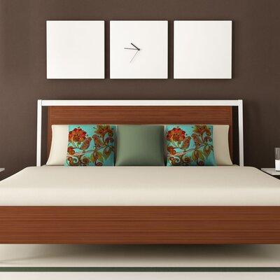 DENY Designs Valentina Ramos Hello Birds Polyester Throw Pillow