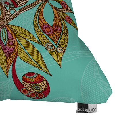 DENY Designs Valentina Ramos Hello Birds Indoor/Outdoor Polyester Throw Pillow