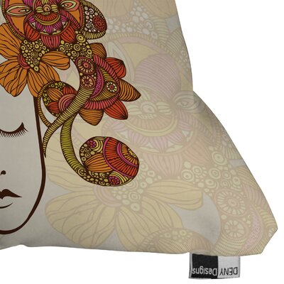 DENY Designs Valentina Ramos Its All In Your Head Indoor/Outdoor Polyester Throw Pillow