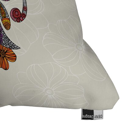 DENY Designs Valentina Ramos Unicornucopia Indoor/Outdoor Polyester Throw Pillow