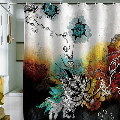 DENY Designs Iveta Abolina Polyester Frozen Dreams Shower Curtain