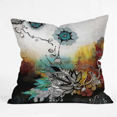 DENY Designs Iveta Abolina Frozen Dreams Indoor / Outdoor Polyester Throw Pillow