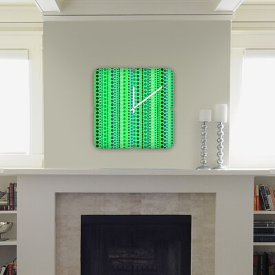 DENY Designs Romi Vega Retro Custom Clock