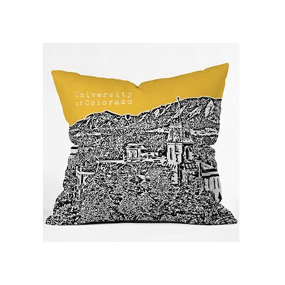 DENY Designs Bird Ave University of Colorado Woven Polyester Throw Pillow