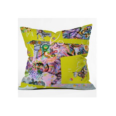 DENY Designs Randi Antonsen Cats 4 Woven Polyester Throw Pillow