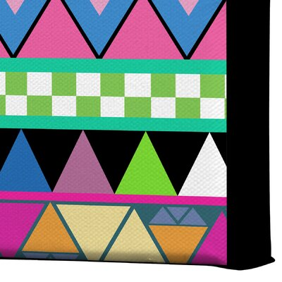 DENY Designs Zigzag by Bianca Green Graphic Art on Canvas
