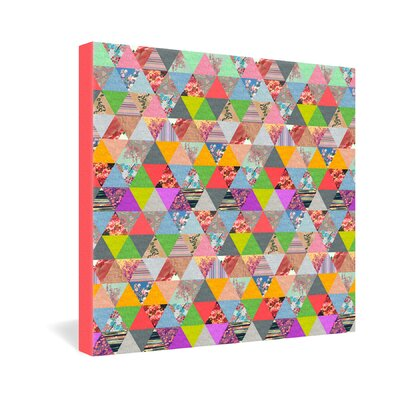 DENY Designs Lost in Pyramid by Bianca Green Graphic Art on Canvas