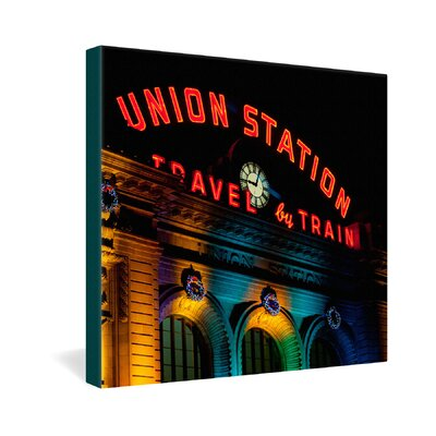 DENY Designs Union Station by Bird Wanna Whistle Photographic Print on Canvas