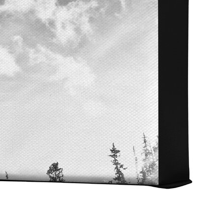 DENY Designs Bird Wanna Whistle Mountain Gallery Wrapped Canvas