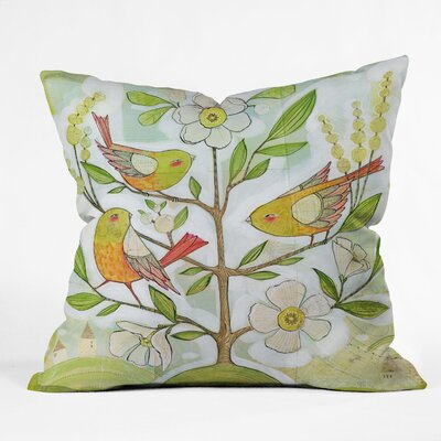DENY Designs Cori Dantini Polyester Community Tree Indoor/Outdoor Throw Pillow