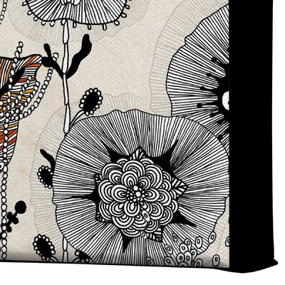 DENY Designs Floral 3 by Iveta Abolina Graphic Art on Canvas