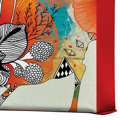 DENY Designs Little Bird by Iveta Abolina Graphic Art on Canvas