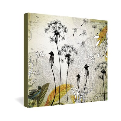 DENY Designs Little Dandelion by Iveta Abolina Graphic Art on Canvas