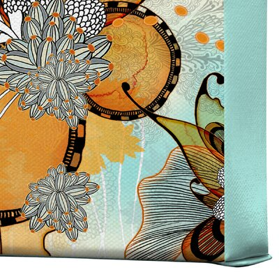 DENY Designs Sunset 2 by Iveta Abolina Graphic Art on Canvas