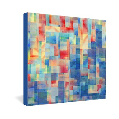 DENY Designs Torrentremix by Jacqueline Maldonado Graphic Art on Canvas
