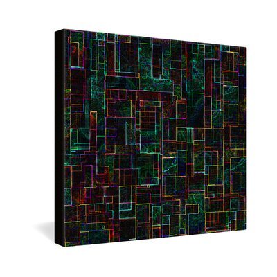 DENY Designs Matrix by Jacqueline Maldonado Graphic Art on Canvas