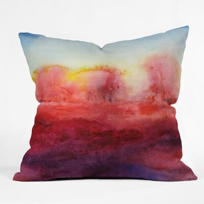DENY Designs Jacqueline Maldonado Where I End Indoor / Outdoor Polyester Throw Pillow