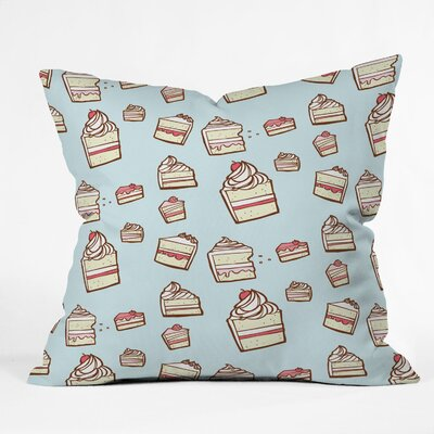 DENY Designs Jennifer Denty Cake Slices Indoor / Outdoor Polyester Throw Pillow