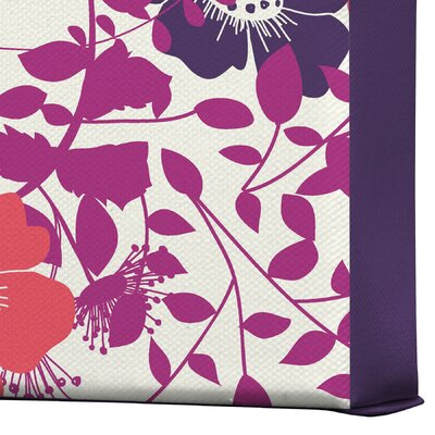 DENY Designs Khristian A Howell Provencal Lavender 1 Gallery Wrapped Canvas