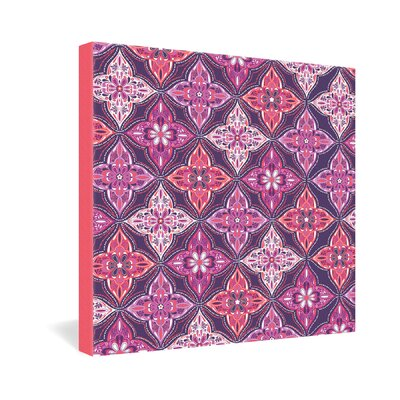 DENY Designs Khristian A Howell Provencal Lavender 5 Gallery Wrapped Canvas