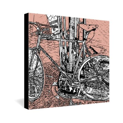 DENY Designs Bike by Romi Vega Graphic Art on Canvas
