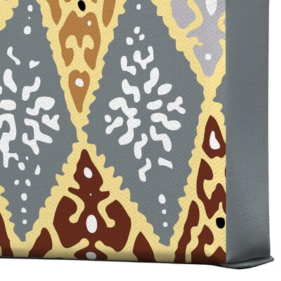 DENY Designs Diamond Tile by Romi Vega Graphic Art on Canvas