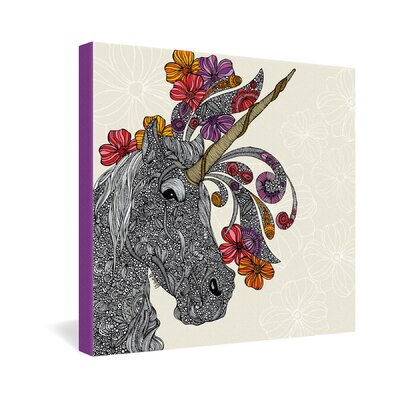 DENY Designs Unicornucopia by Valentina Ramos Graphic Art on Canvas