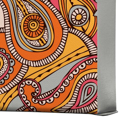 DENY Designs Spring Paisley by Valentina Ramos Graphic Art on Canvas