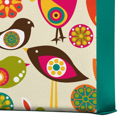 DENY Designs Little Birds by Valentina Ramos Graphic Art on Canvas