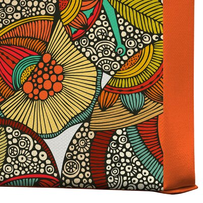 DENY Designs Valentina Ramos 4 Owls Gallery Wrapped Canvas