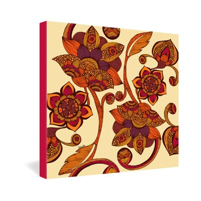 DENY Designs Boho Flowers by Valentina Ramos Graphic Art on Canvas