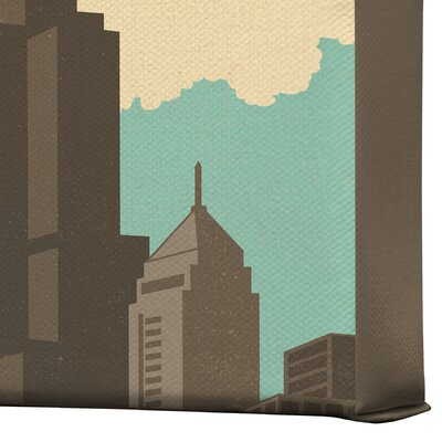 DENY Designs Chicago by Anderson Design Group Vintage Advertisement on Canvas