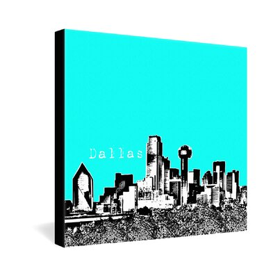 DENY Designs Bird Ave Dallas Gallery Wrapped Canvas