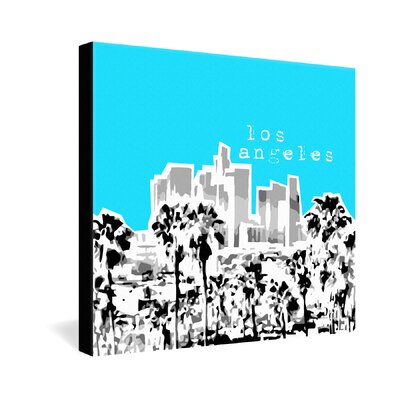 DENY Designs Los Angeles by Bird Ave. Graphic Art on Canvas