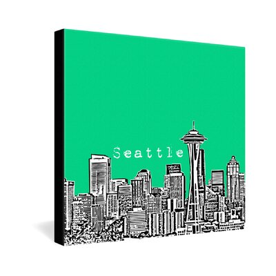 DENY Designs Seattle by Bird Ave. Graphic Art on Canvas
