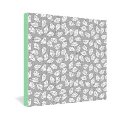 DENY Designs Bianca Green Leafy Gallery Wrapped Canvas