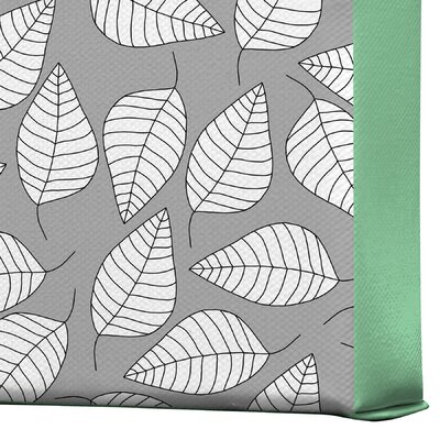 DENY Designs Leafy by Bianca Green Graphic Art on Canvas