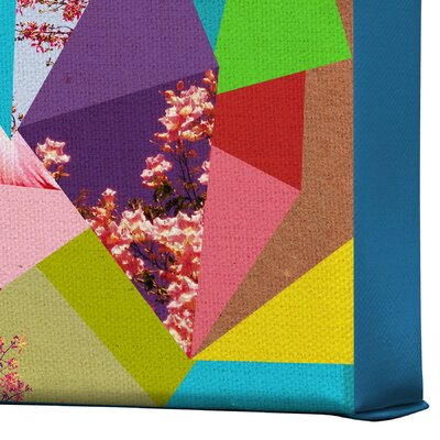 DENY Designs Bianca Green Colorful Thoughts Gallery Wrapped Canvas