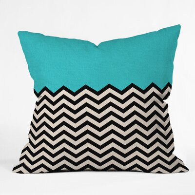 Bianca Green Indoor/Outdoor Polyester Throw Pillow