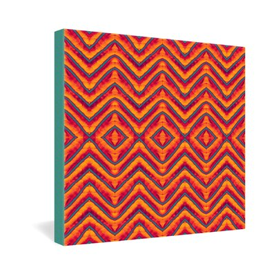 DENY Designs Wagner Campelo Sanchezia 1 Gallery Wrapped Canvas