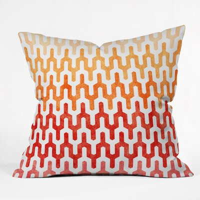 DENY Designs Arcturus Warm 1 Polyester Throw Pillow