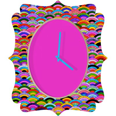 DENY Designs Fimbis A Good Day Clock