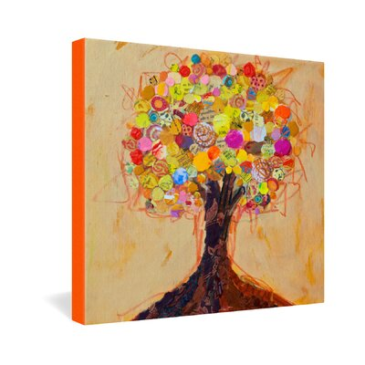 DENY Designs Elizabeth St Hilaire Nelson Summer Tree Gallery Wrapped Canvas