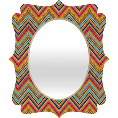 DENY Designs Amy Sia Tribal Chevron Quatrefoil Mirror