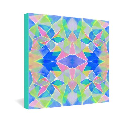 DENY Designs Chroma Blue by Amy Sia Graphic Art on Canvas